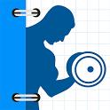 Fitness Buddy : 1700 Exercises icon