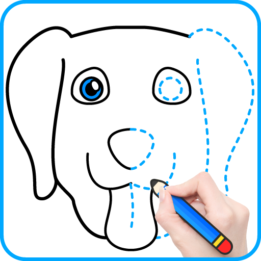 Draw.ai - Learn to Draw & Coloring Icon