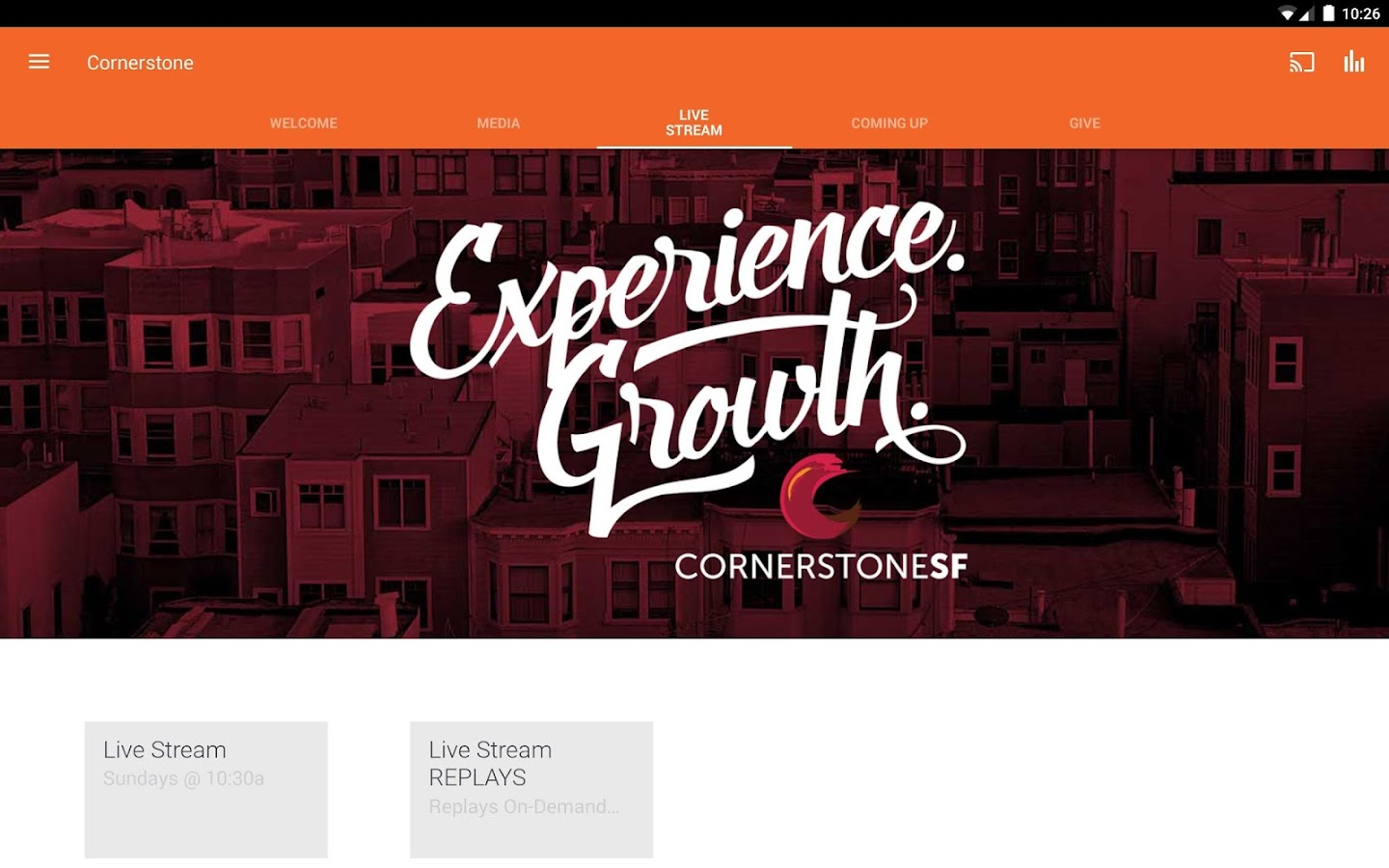 CornerstoneSF- screenshot