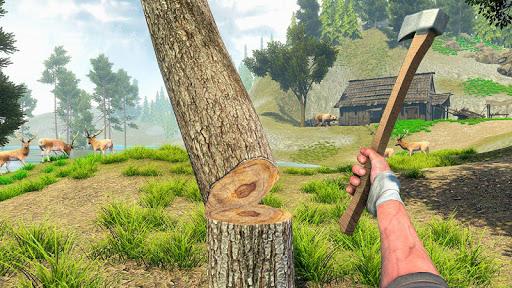 Woodcraft - Survival Island apkpoly screenshots 14