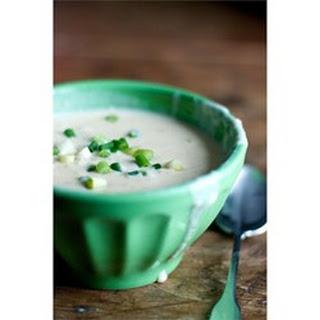 Cauliflower-Cheese Soup.
