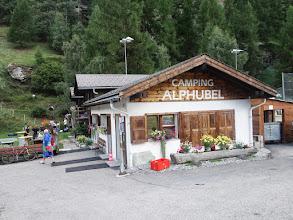 Photo: náš kemp v Täsch