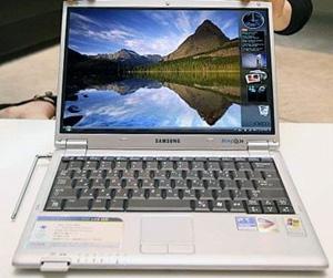 Samsung Q30-SSD laptop computer