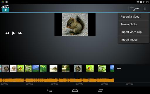صانع الفيلم محرر الفيديو screenshot 8