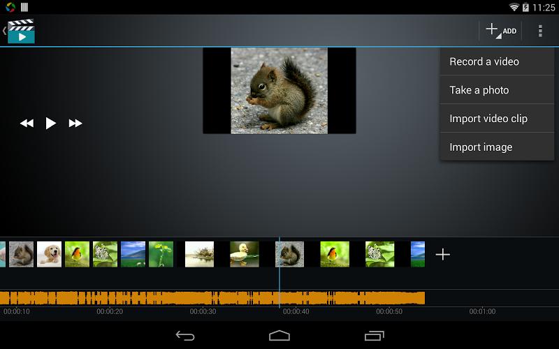Скриншот Video Maker Movie Editor