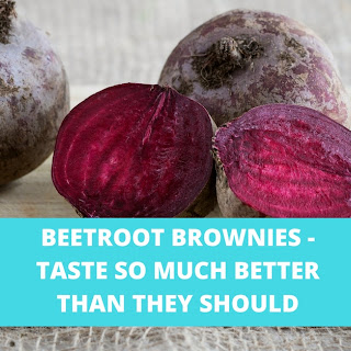 Beetroot Brownies.