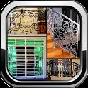 Home Grill Trellis Window Designs Metal Door Ideas icon