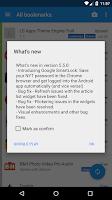 Screenshot of MarketMarks - App Bookmarks