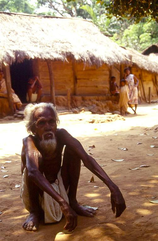 Il vecchio capo villaggio di leorol
