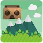 Cardboard Mountains Icon