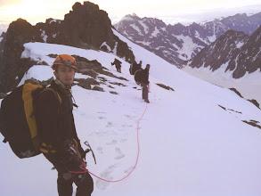 Photo: Sur la crêtede Roche Faurio, vers le déco..
