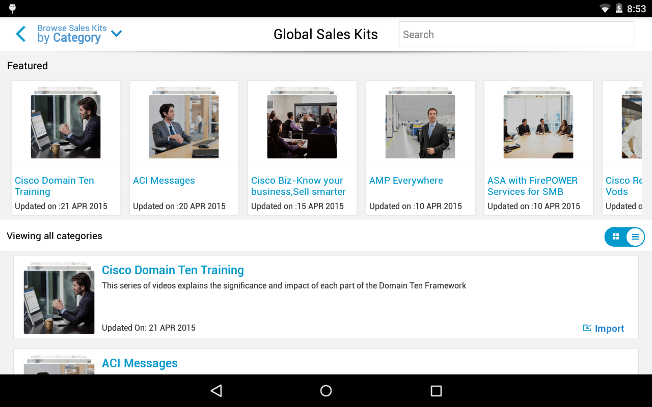 Cisco SalesConnect - screenshot