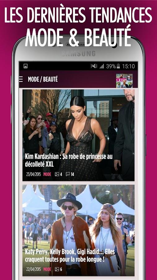 Closer - News People en Live - screenshot
