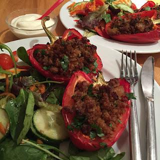 Lamb Stuffed Peppers Stuffed Peppers Recipes