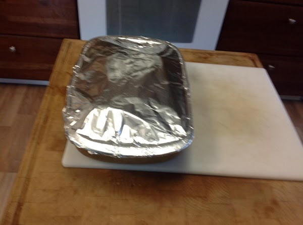 Preheat the oven to 375 and bake for 45 minutes with foil.  Remove...