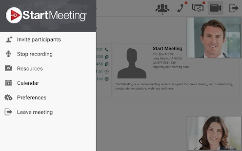 Start Meeting- screenshot thumbnail