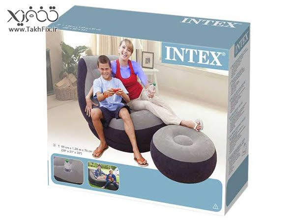 Ghế Hơi Tựa Lưng Intex