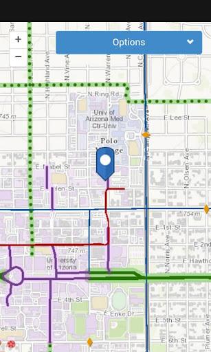 Tucson Bikeways Map