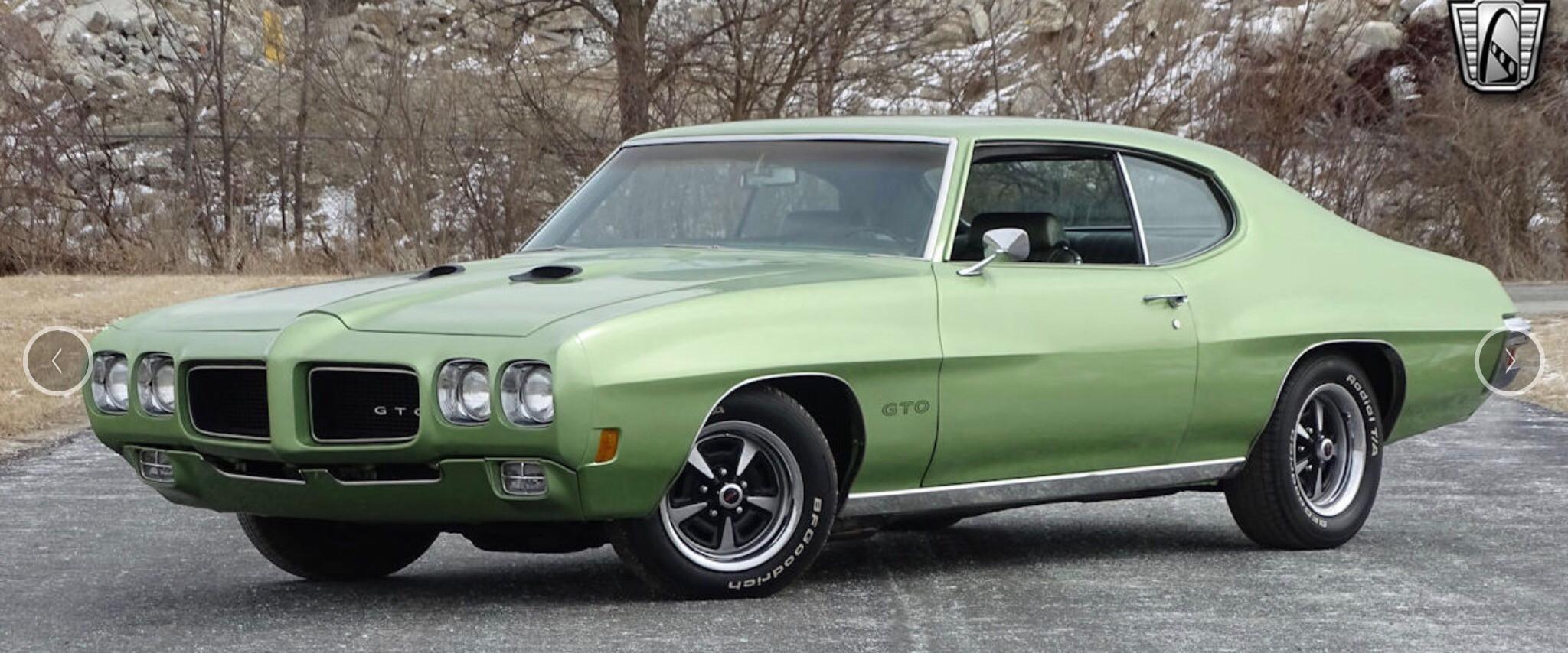 Pontiac  Gto Hire Clewiston