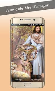 Jesus Cube Livewallpaper - náhled