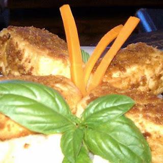 Spicy Fried Marinated Tofu