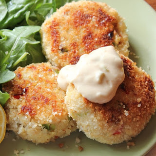 Crab Cakes with Rémoulade.