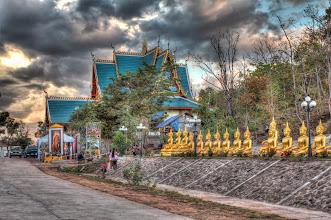 Photo: Laos Reisen, Wat Phu Sa Lao, Pakse