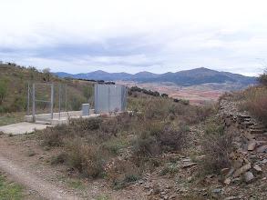 """Photo: Estufa de la red antigranizo de Aragón (próxima a los """"Pinos de Montón"""""""
