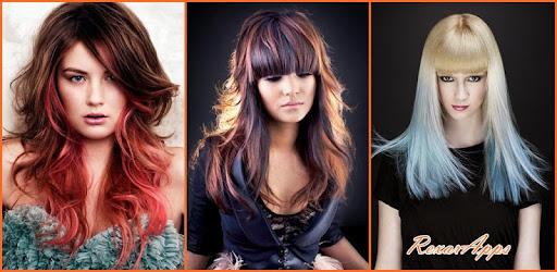 Nová farba vlasov nápady – Aplikácie v službe Google Play 0eceeb1b037
