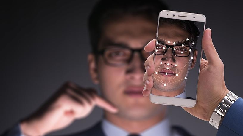 Fingerprint and facial recognition sensors are now embedded on many new smartphones for authentication and identification purposes.