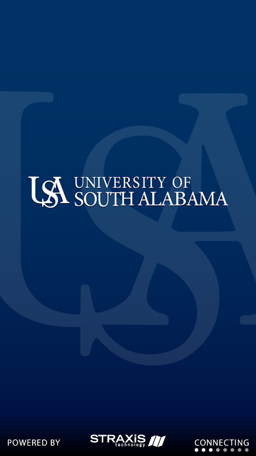 University of South Alabama- screenshot