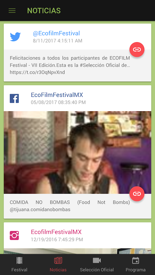 ECOFILM Festival 2017- screenshot