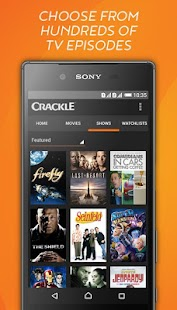 Crackle - Free TV & Movies- screenshot thumbnail
