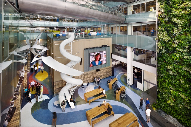 Google's casual workplace