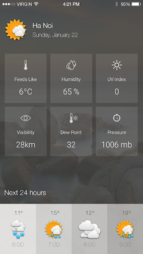 Weather forecast - realtime weather forecast Programos (APK) nemokamai atsisiųsti Android/PC/Windows screenshot
