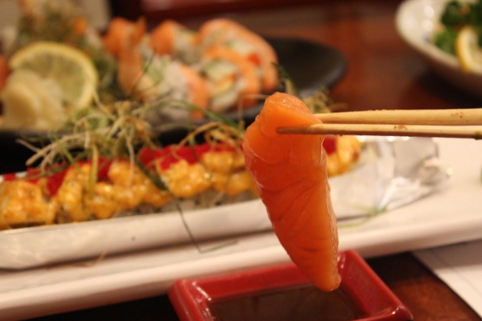 Sashimi at Ichiban Fish House
