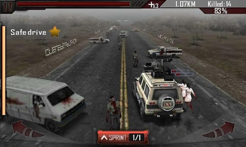 Zombie Roadkill 3D MOD APK (Unlimited Gold) 4