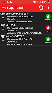WIFI WPS WPA TESTER Screenshot