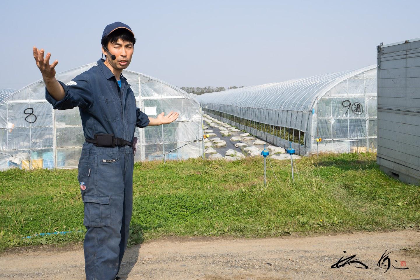 有機栽培に大切なのは水です!