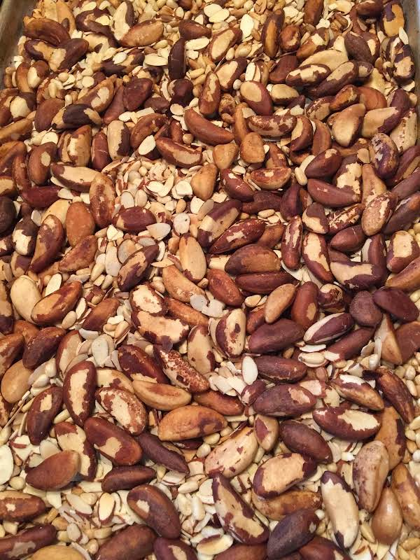 Roasted Mixed Snack Nuts Recipe