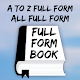 A to Z Full Form Book: Full Form Dictionary Download on Windows