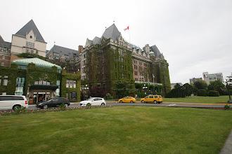 Photo: Das noble Fairmont Empress Hotel