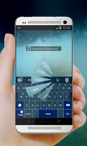 免費下載個人化APP|粉筆遊戲Fěnbǐ yóuxì GO Keyboard app開箱文|APP開箱王