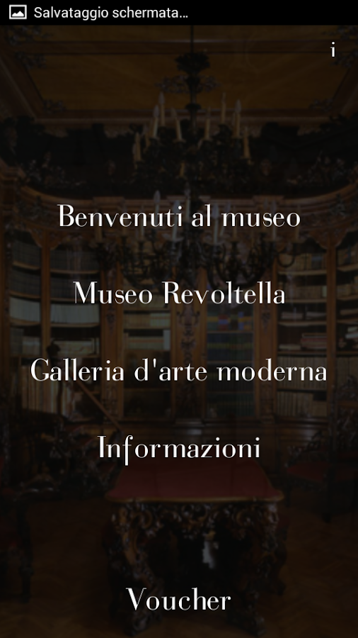 Museo Revoltella- screenshot