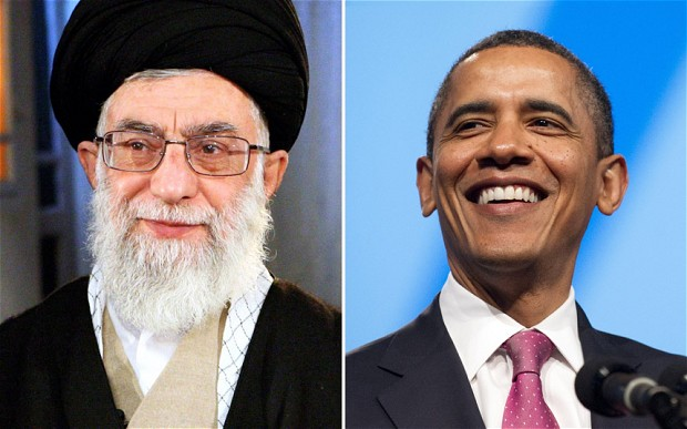 Ayatollah Khamenei praises Barack Obama's anti-war comments