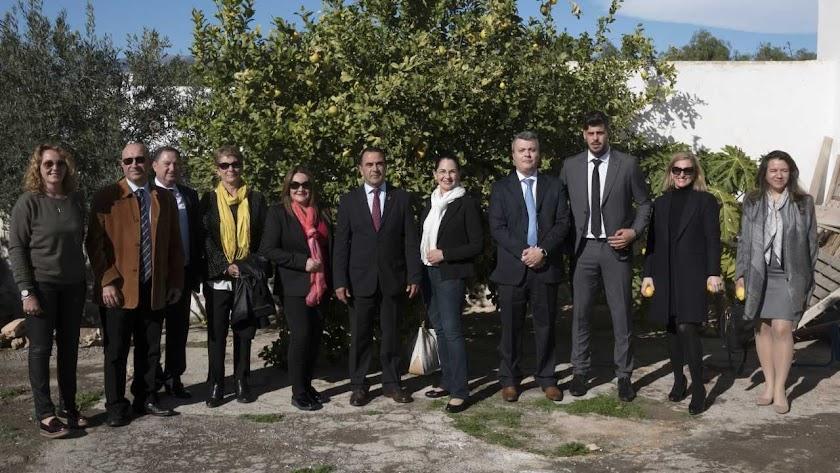Agrupaejido muestra el modelo Almería a una delegación ecuatoriana