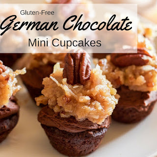 Gluten-Free German Chocolate Cupcakes