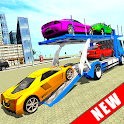 Euro Truck Car Transporter Driver Game icon