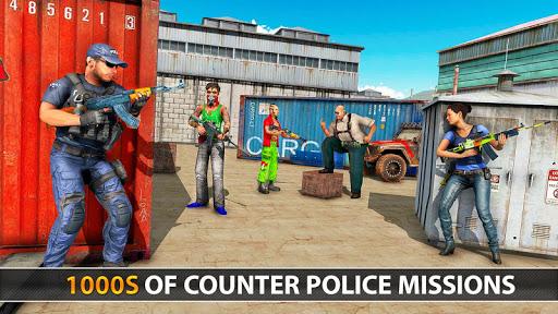 Police Counter Terrorist Shooting - FPS Strike War apkpoly screenshots 14