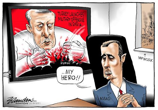 CARTOON: Assad's new hero
